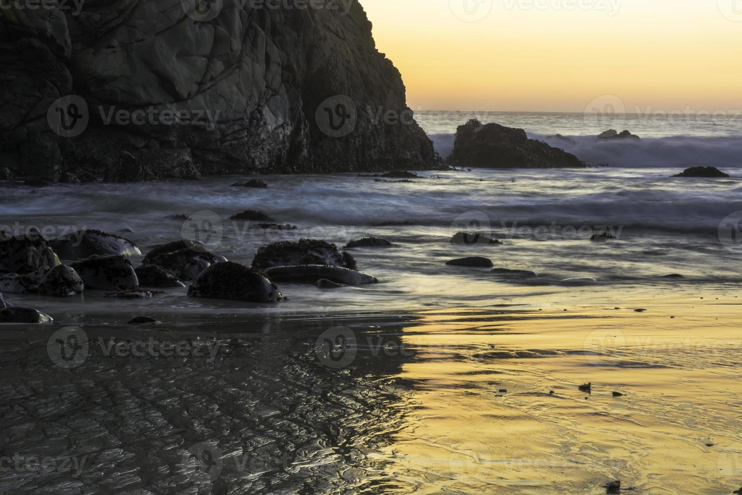 Gelassenheit bei Sonnenuntergang foto