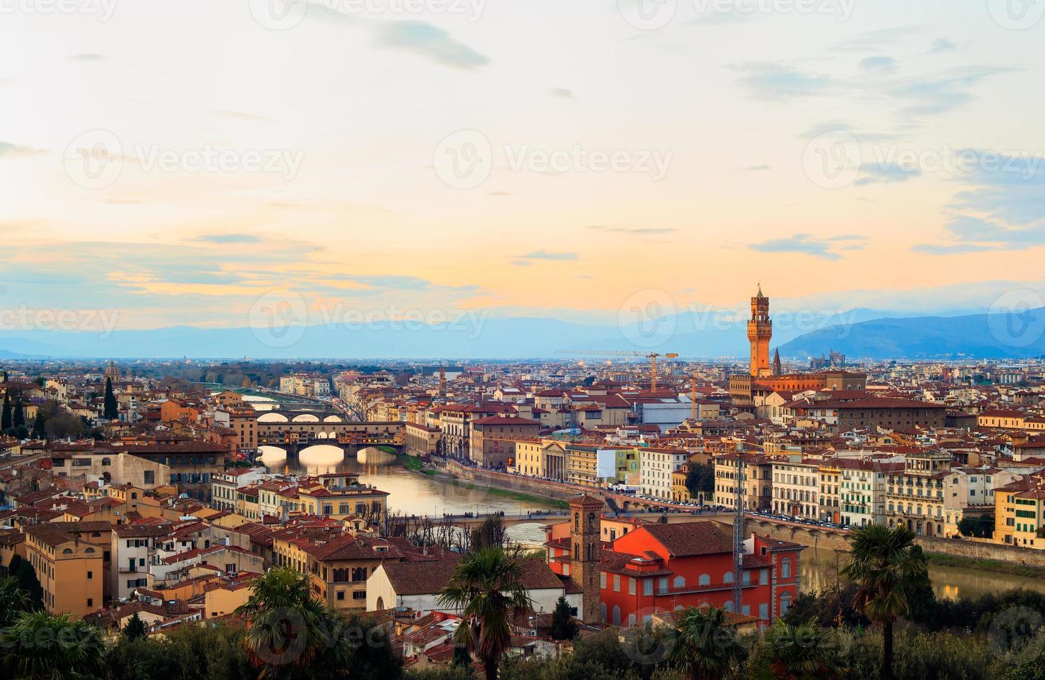Blick auf Florenz foto