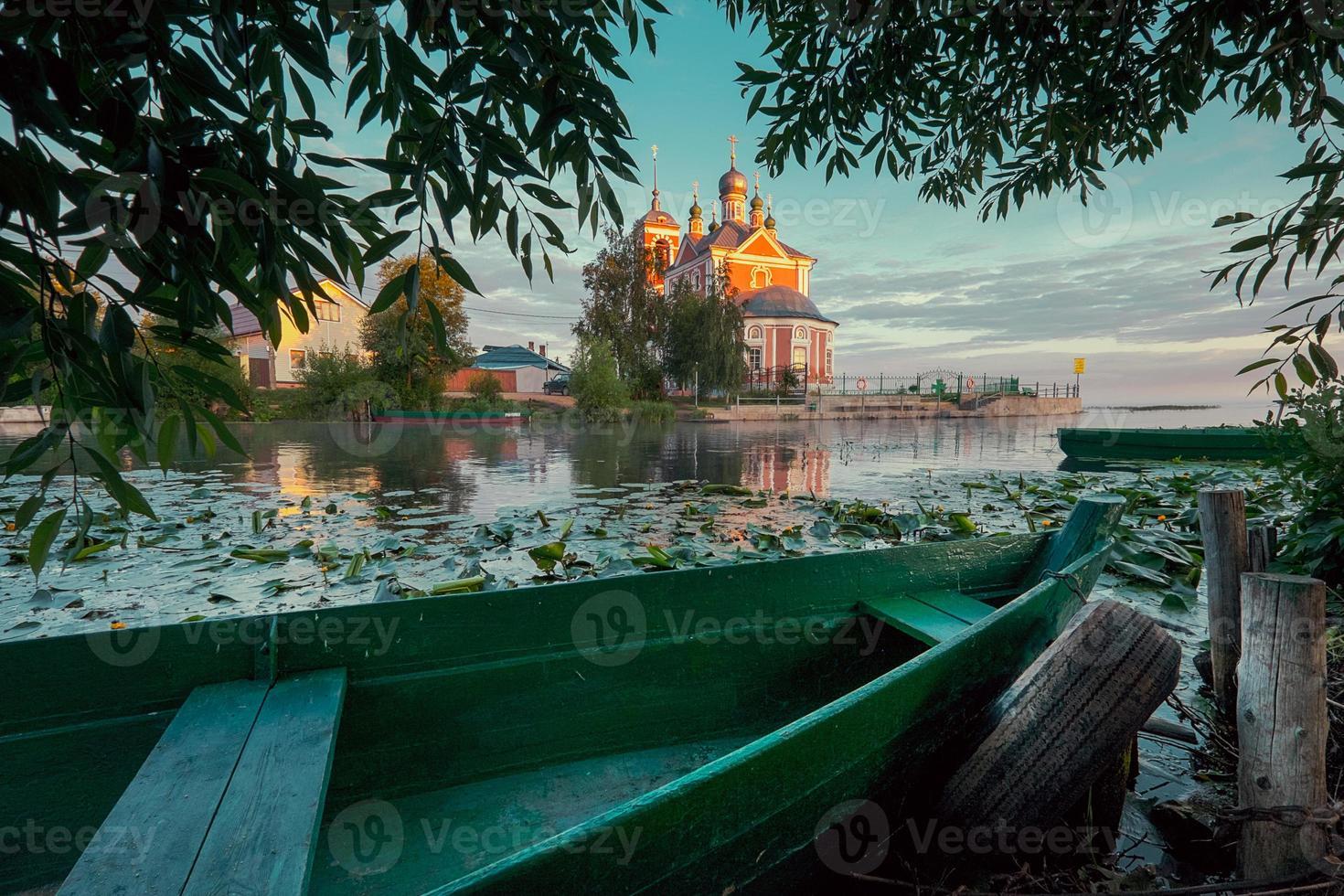 cidade da província russa de pereslavl zalessky foto