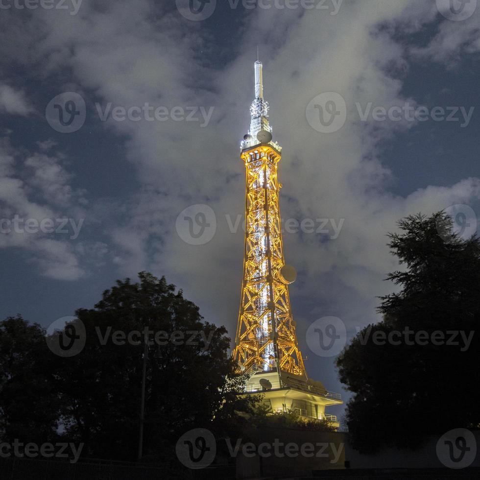 Lyon zwischen hell und dunkel foto