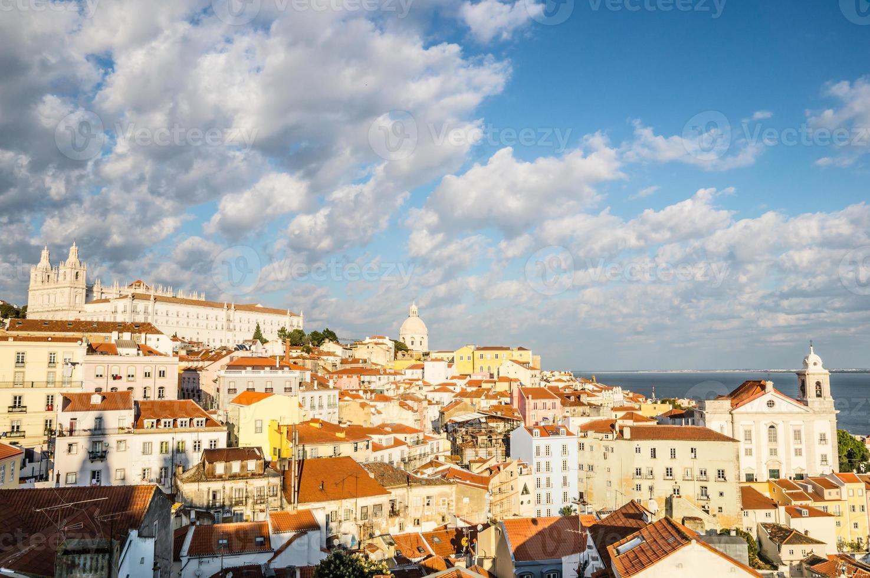 alfama en lisboa, portugal foto
