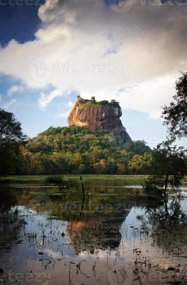 Sigiriya Lion Rock Fortress en Sri Lanka foto