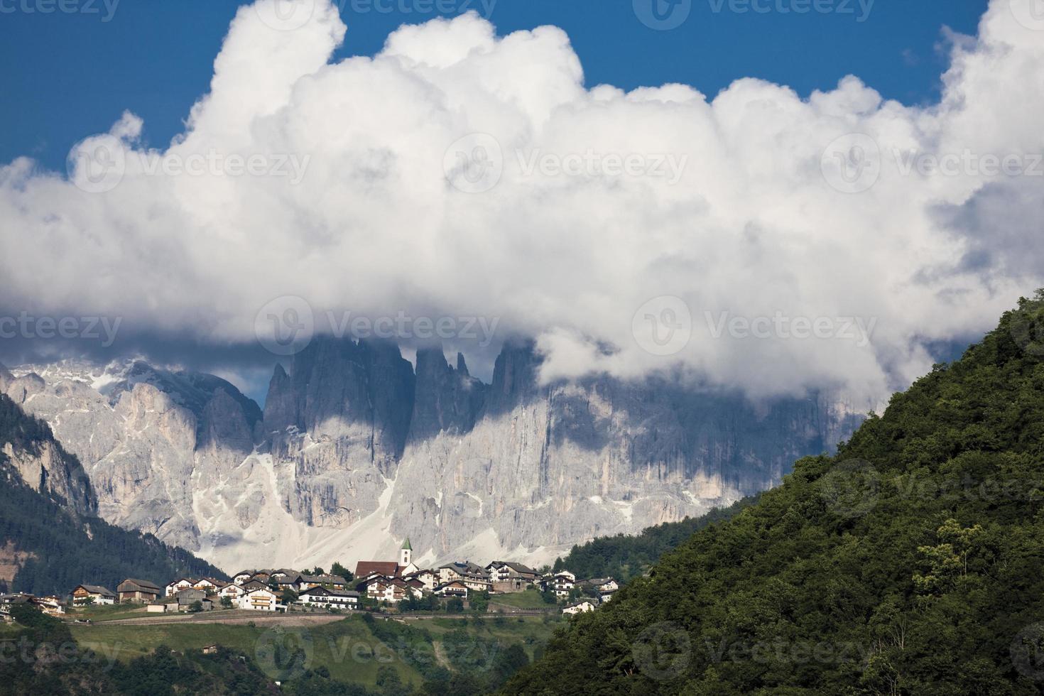 Italy, South Tyrol, Landscape, Mountain village photo