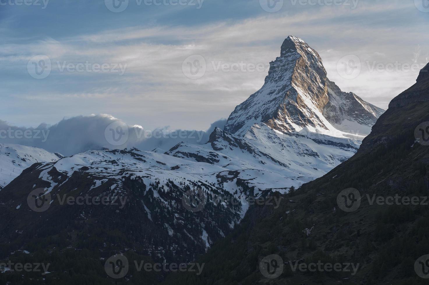 Matterhorn de montaña foto