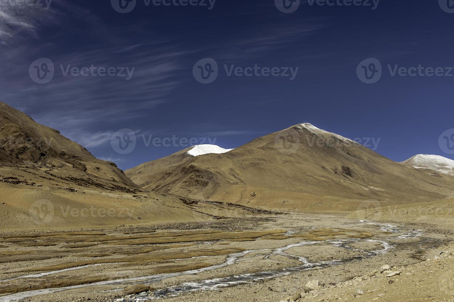 montaña del himalaya foto