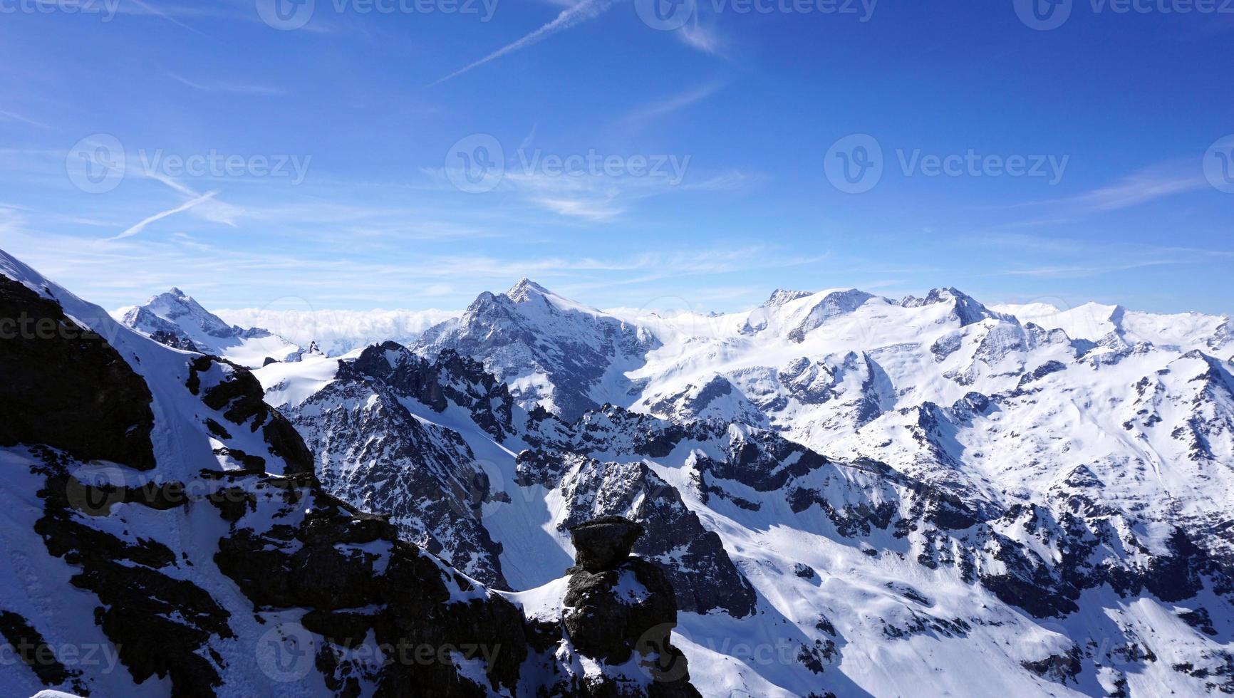 Titlis snow mountains photo