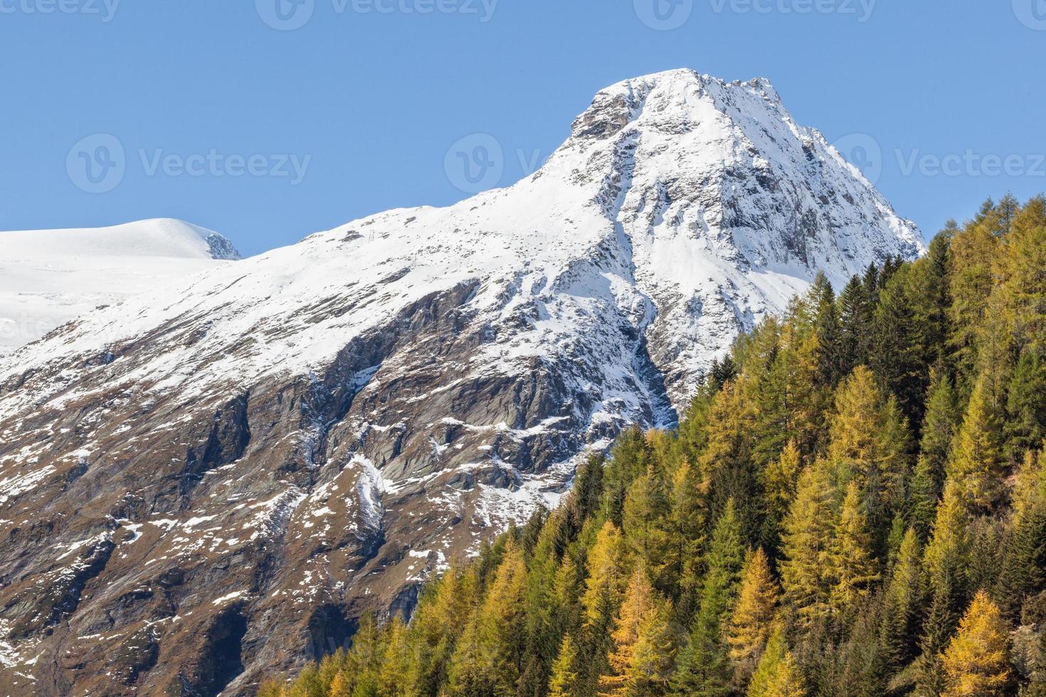 Mountain peak photo