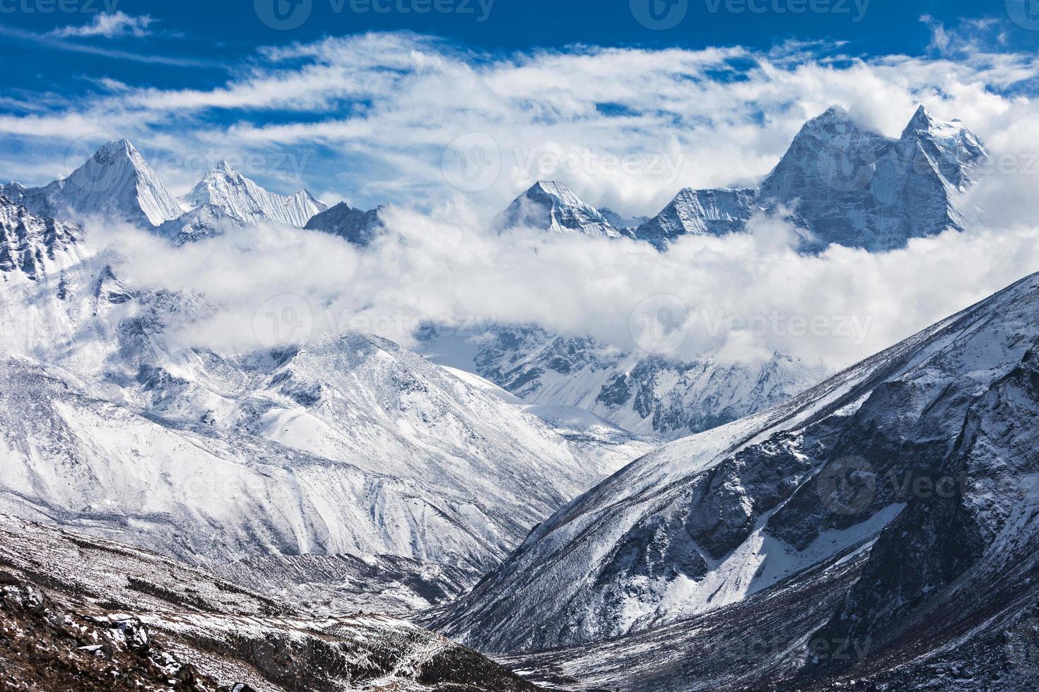 Mountains, Everest region photo