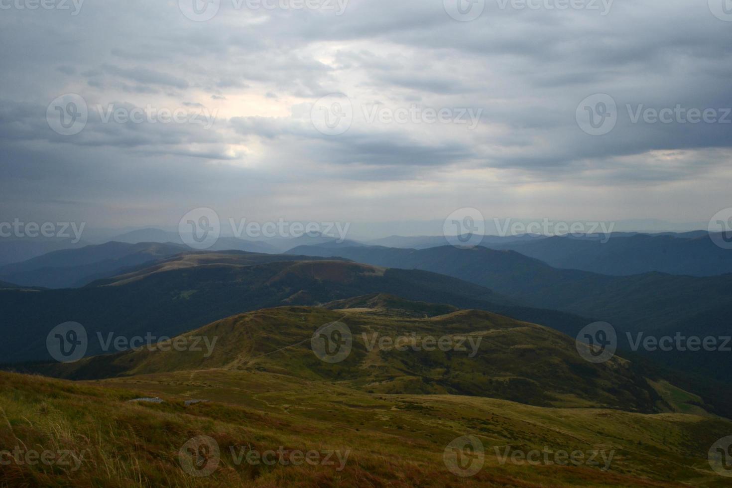 nube montañas cielo foto