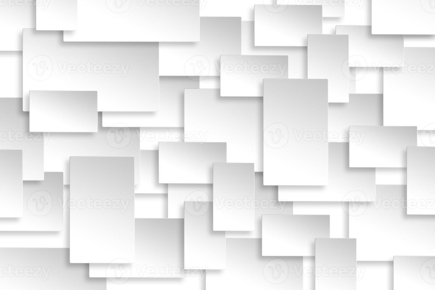 textura de fondo de plata de diseño de rectángulo de papel abstracto. foto