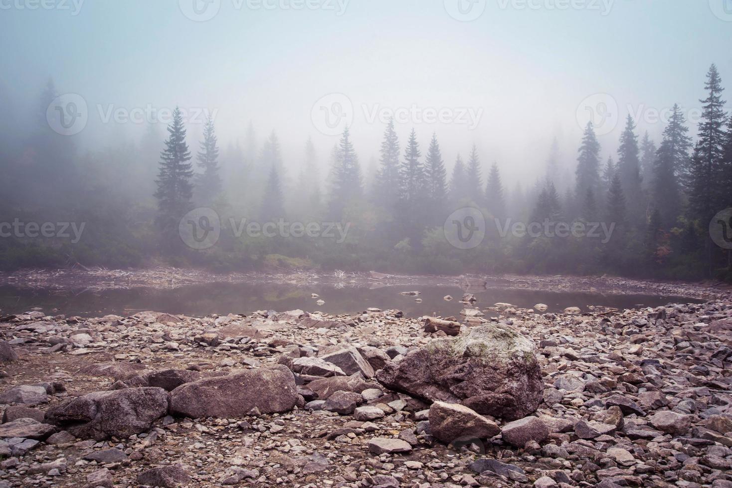 lake at Tatra mountains photo