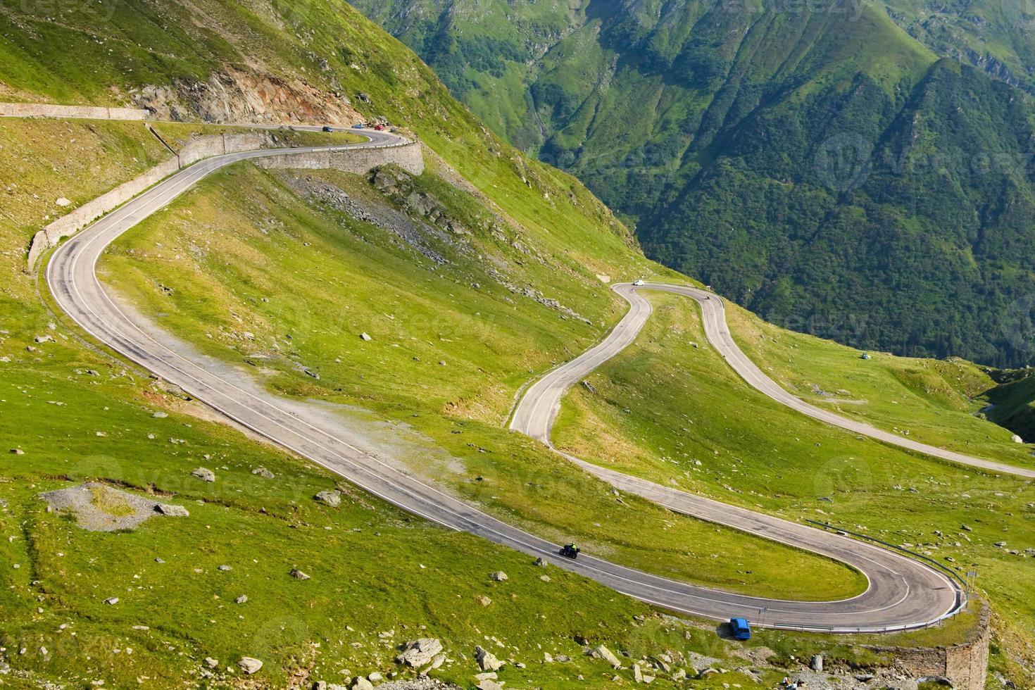 Transfagarasan mountain road, Romanian Carpathians photo