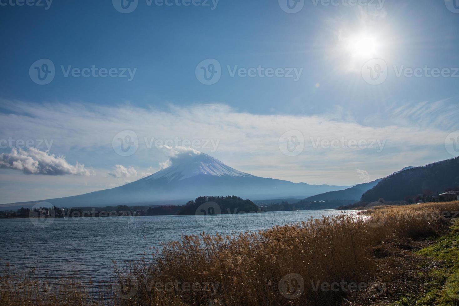 monte Fuji Japón foto