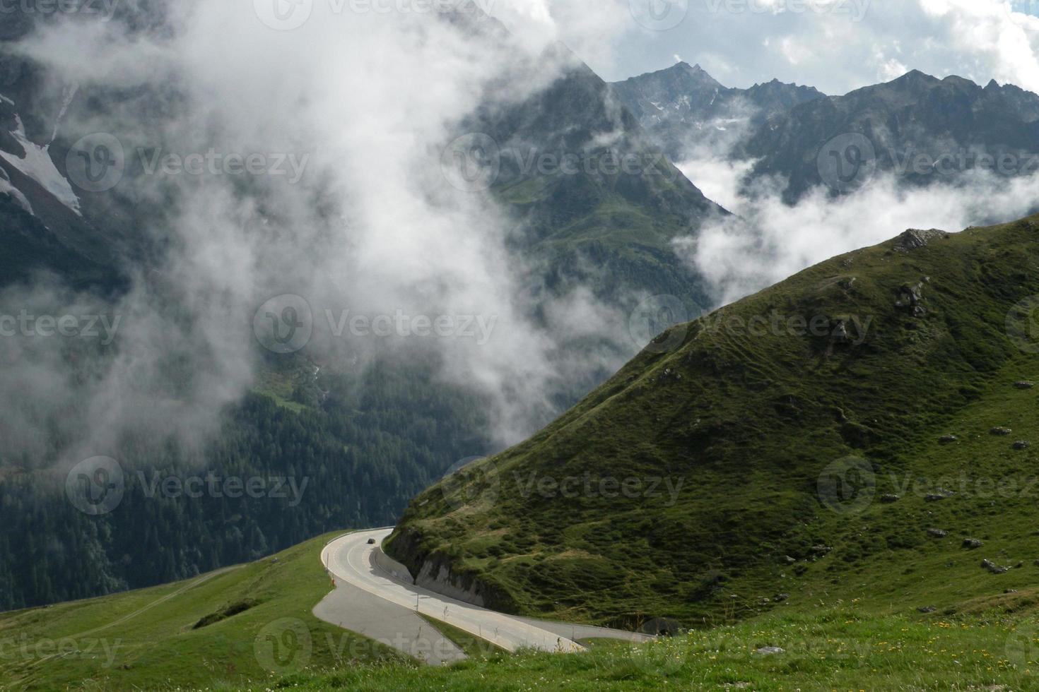 St. Gotthard pass photo