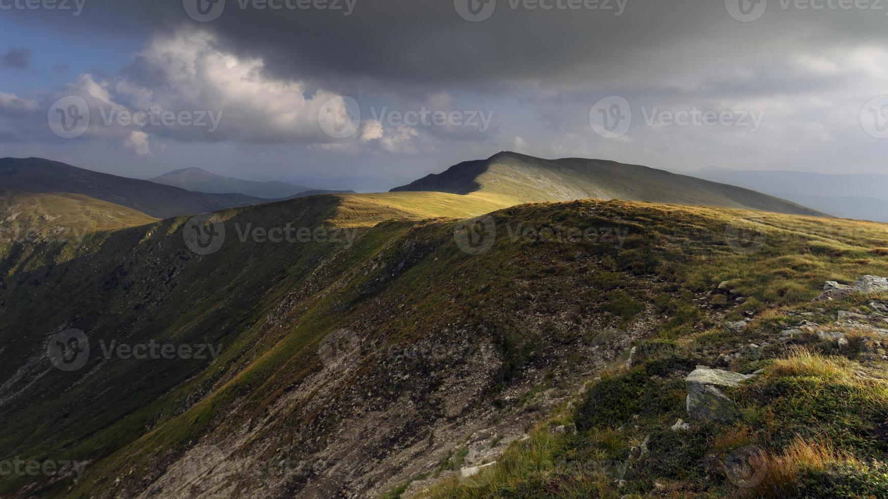 Carpathian peaks photo