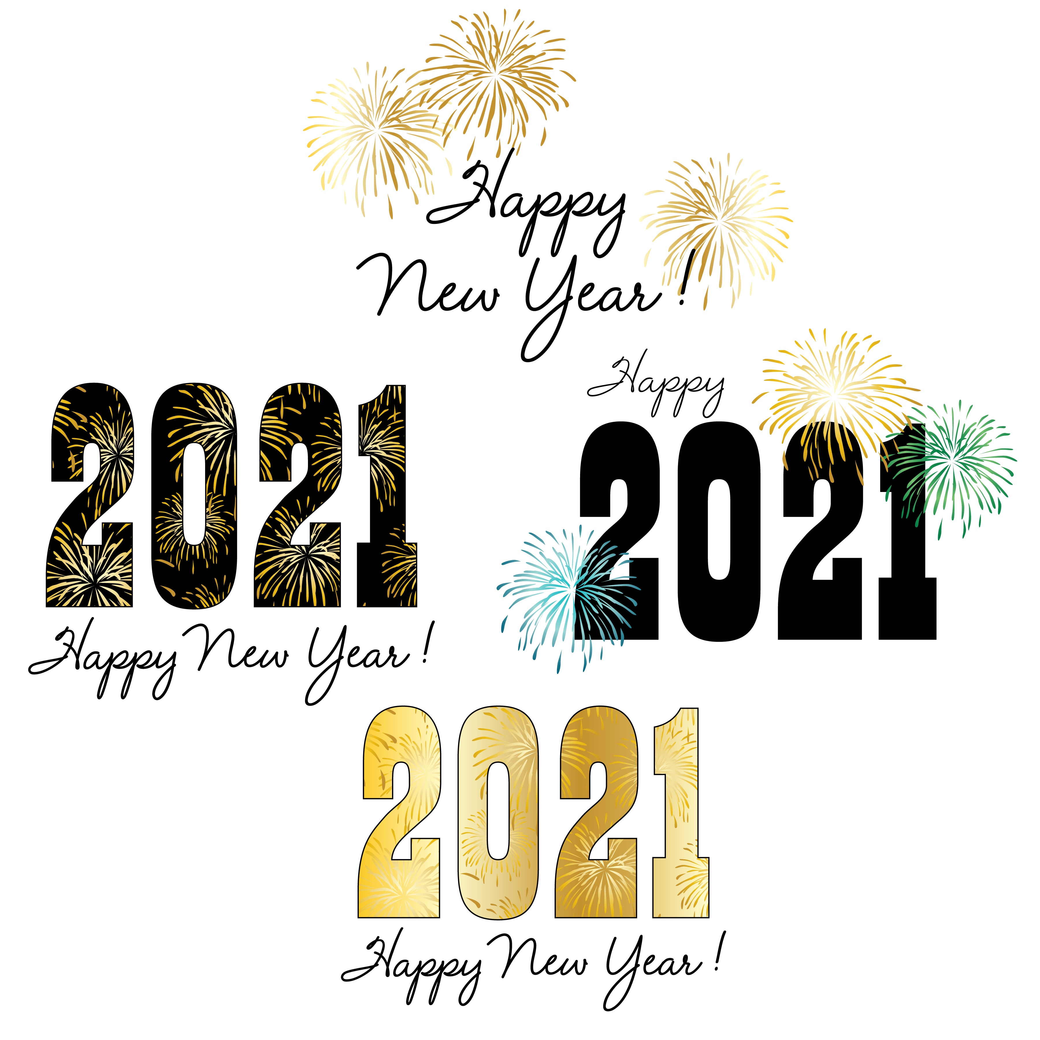 2021 new year typography and graphics with fireworks download free vectors clipart graphics vector art https www vecteezy com vector art 1330083 2021 new year typography and graphics with fireworks