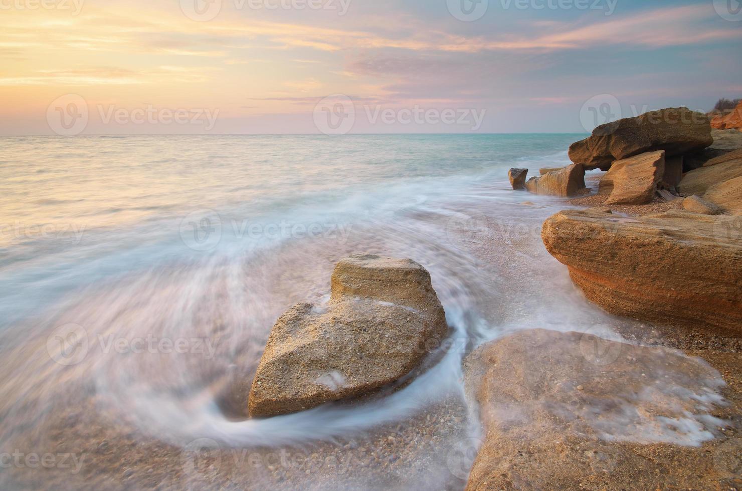 Beautiful seascape. photo