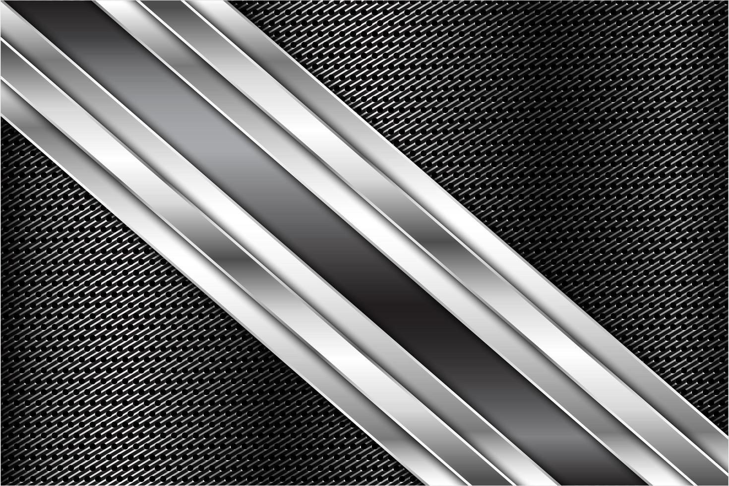 fondo metalizado gris oscuro vector