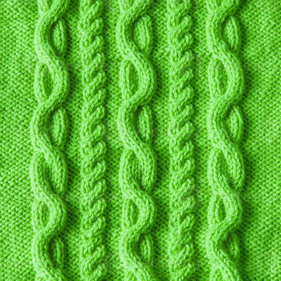 Knitting wool texture background photo