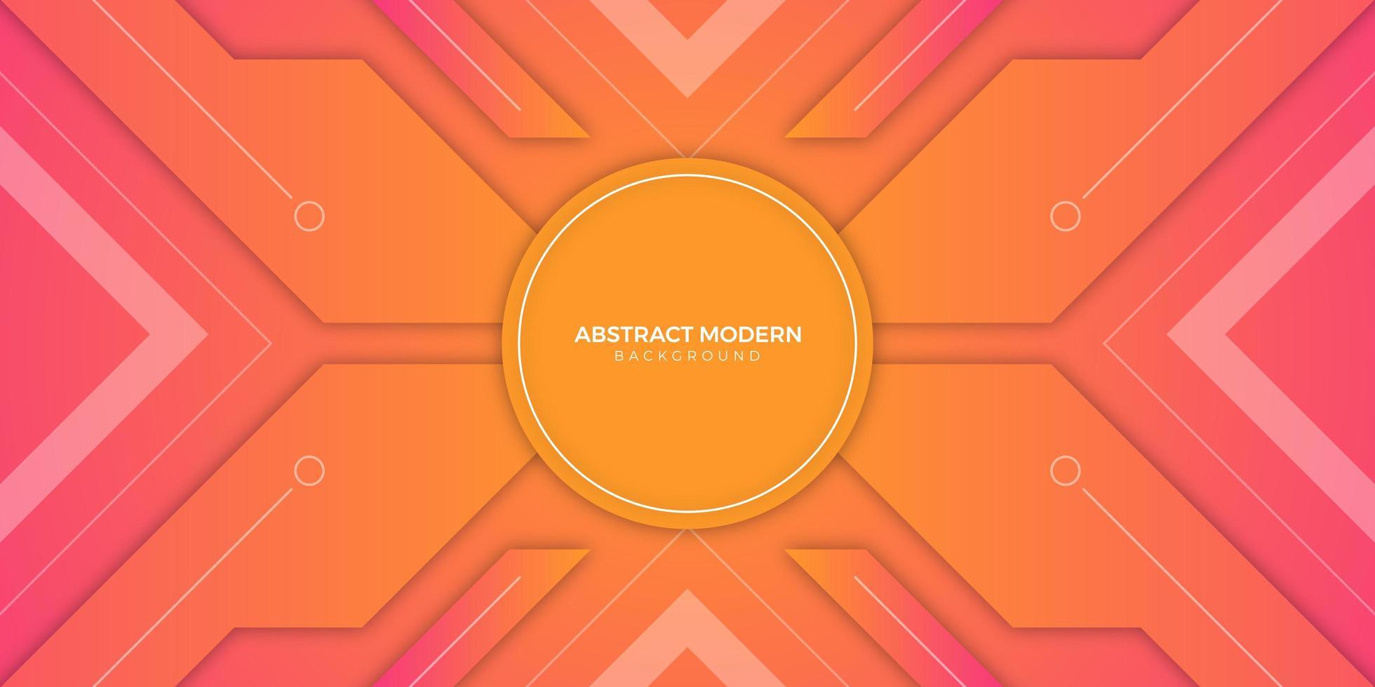 fondo abstracto con colores del atardecer vector