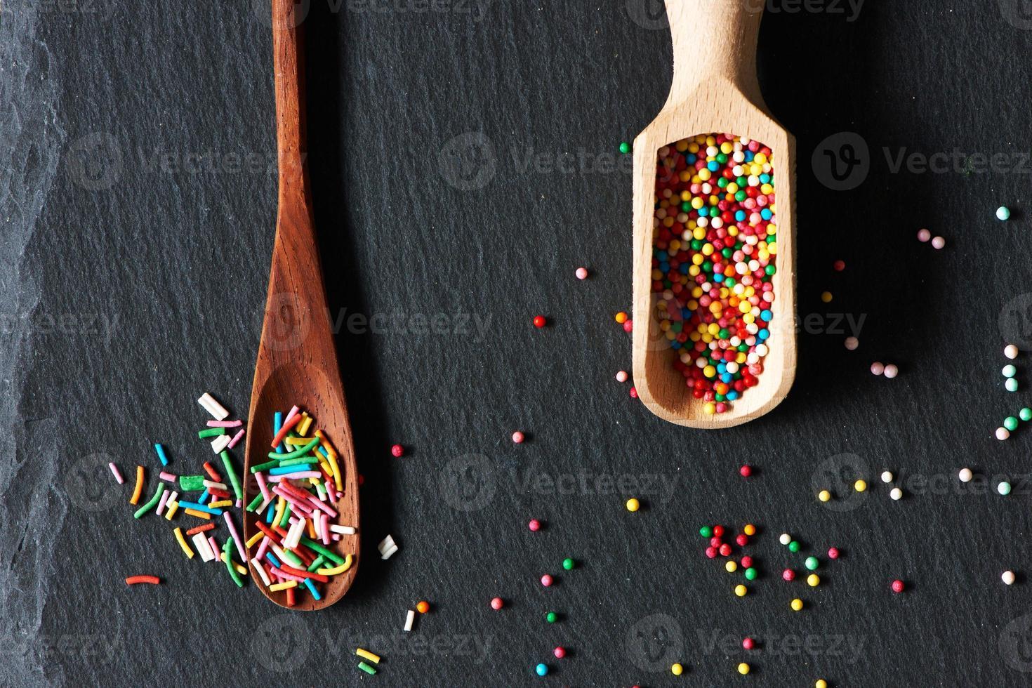 Sugar sprinkle dots photo