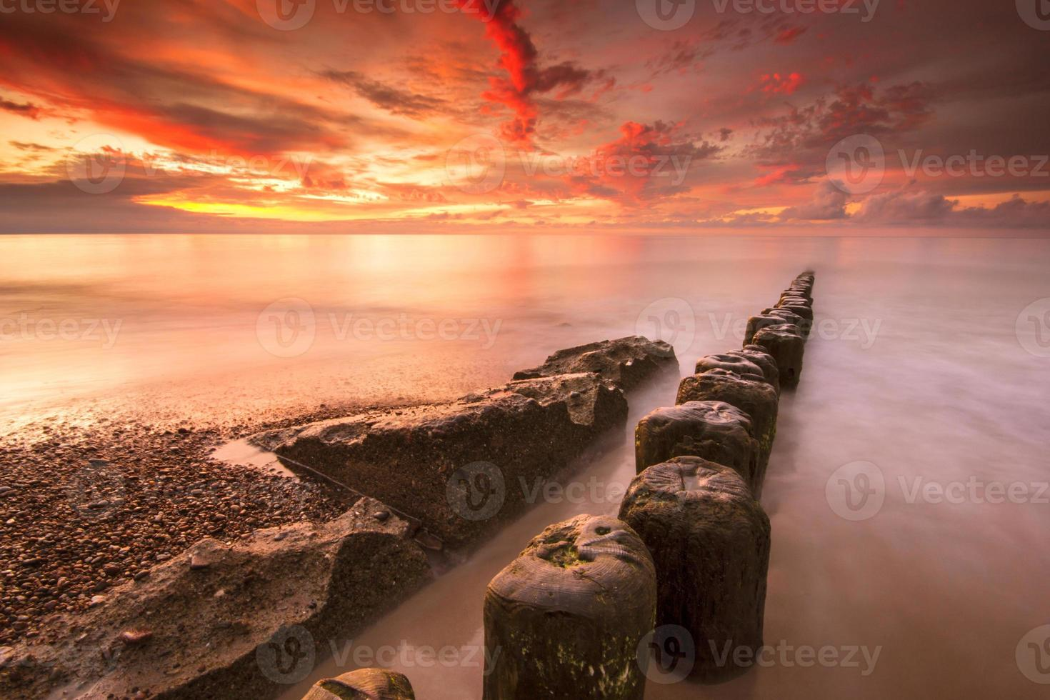 mar Báltico. foto