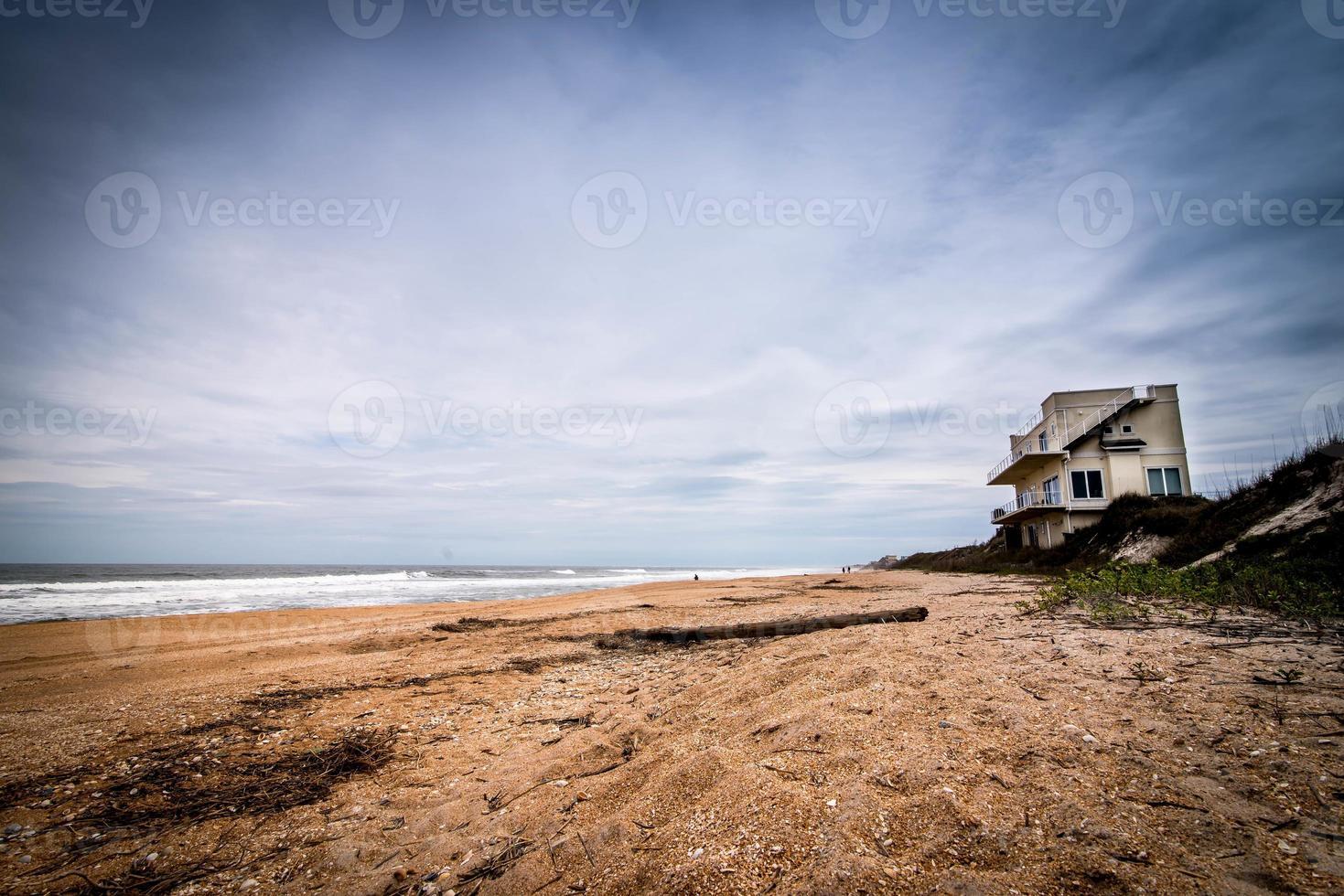 casa en la playa foto