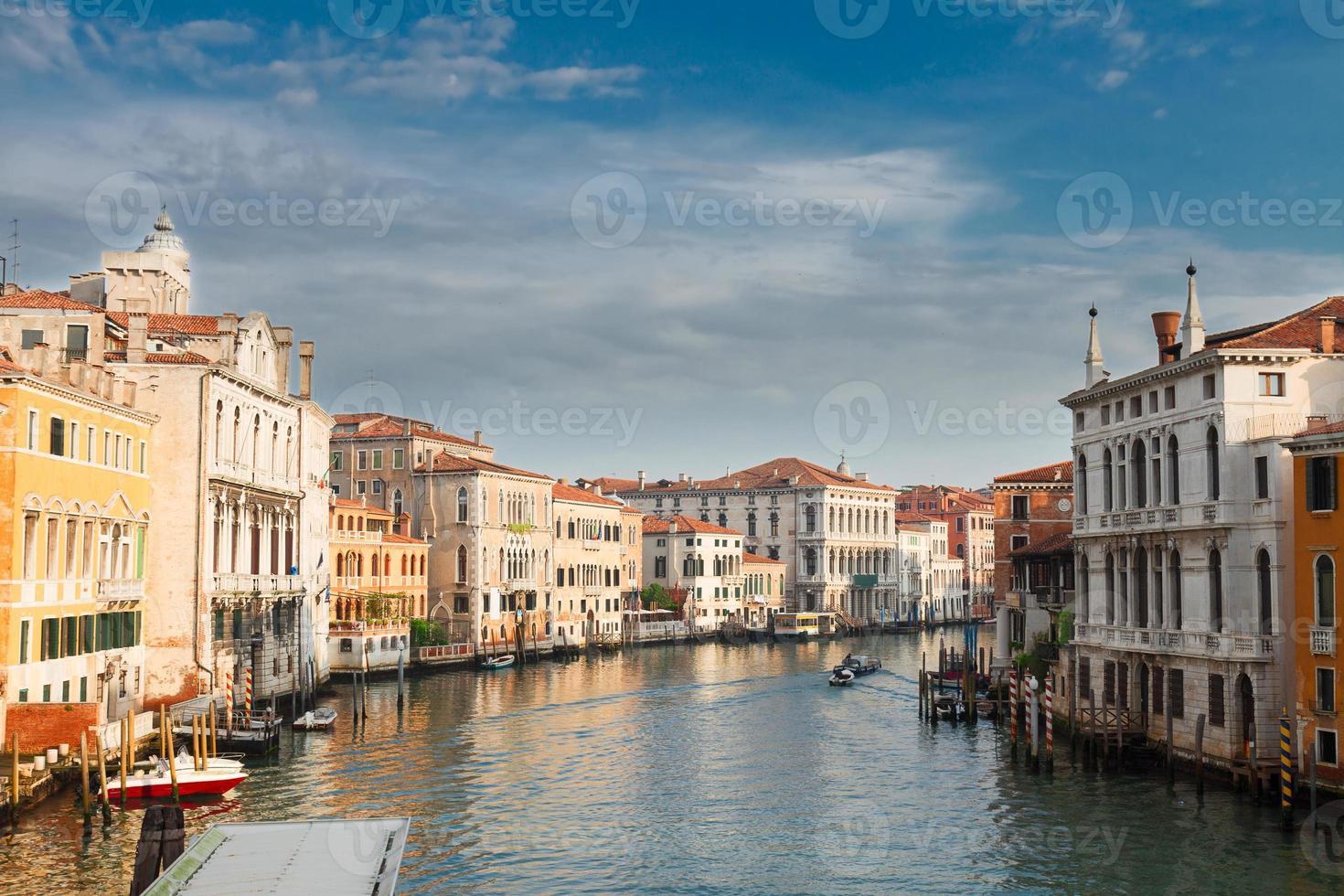 Casa tradicional de Venecia, Italia foto