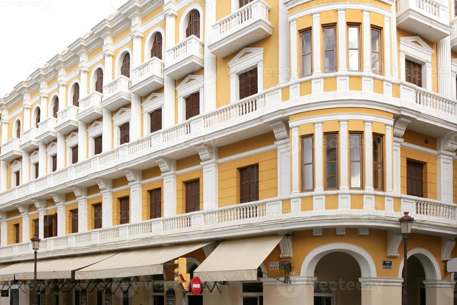 case di architettura dell'isola mediterranea di ibiza foto