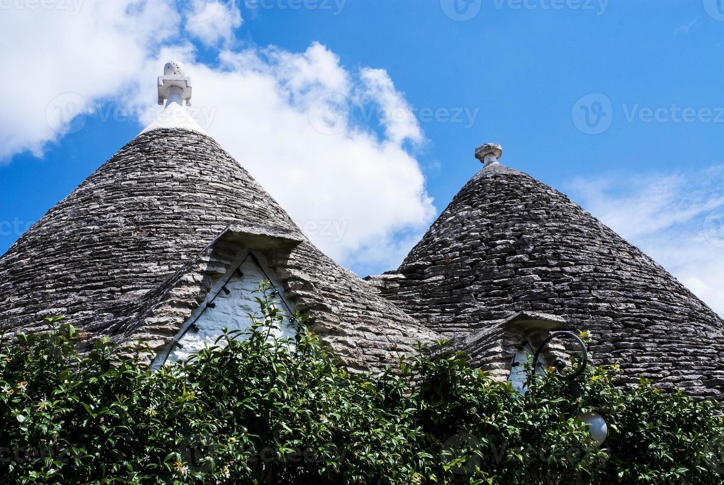 telhados trulli, puglia foto
