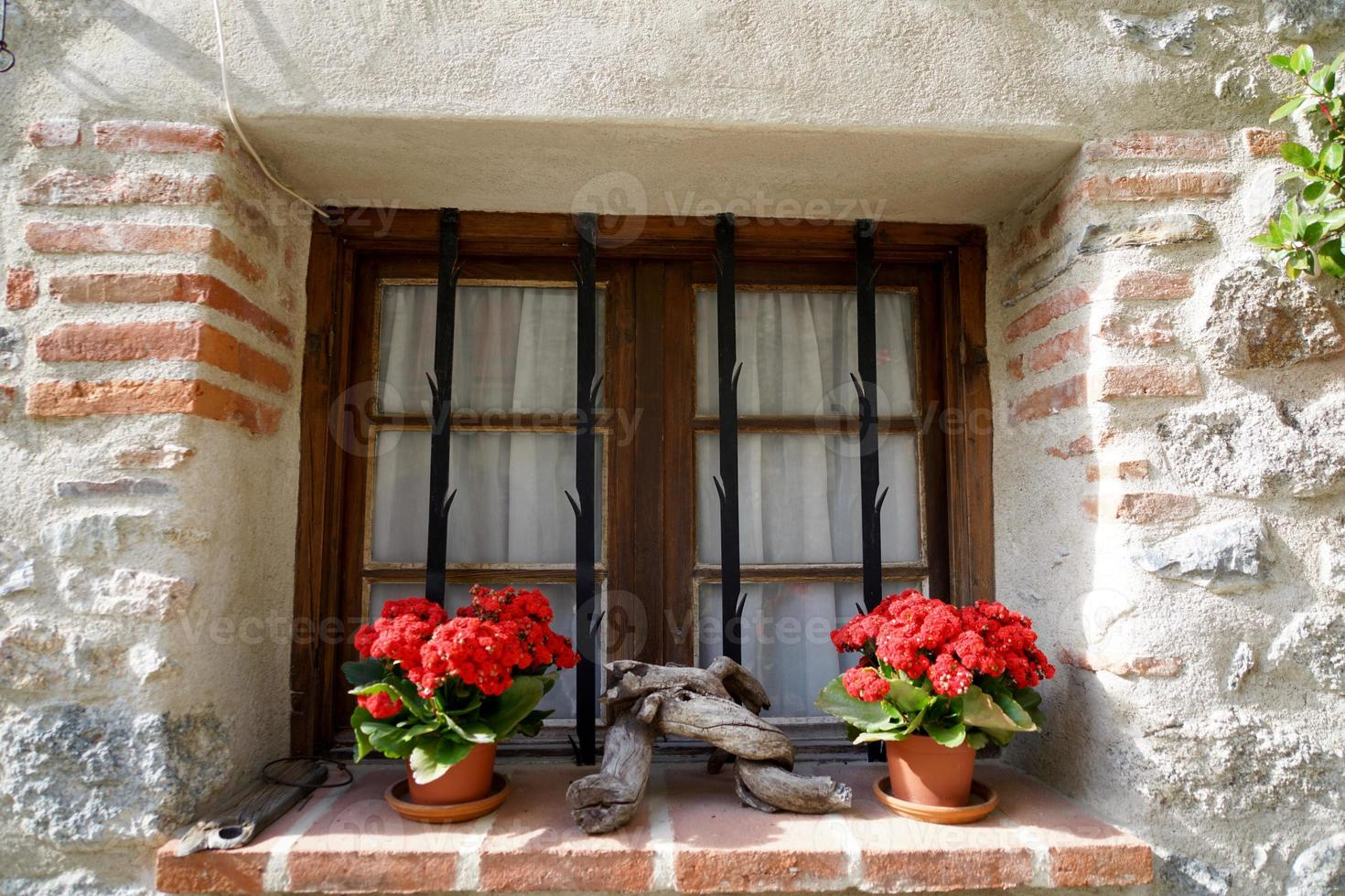 window of a medieval house photo