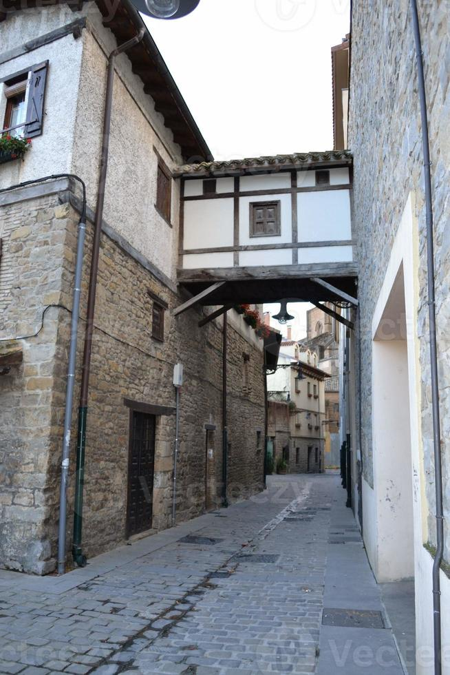 Pamplona old town photo