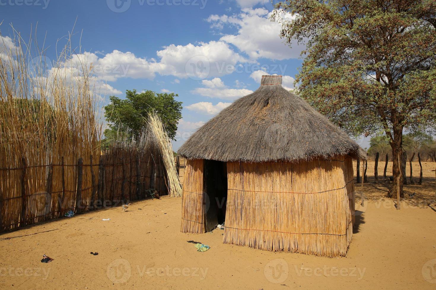 pueblo africano foto