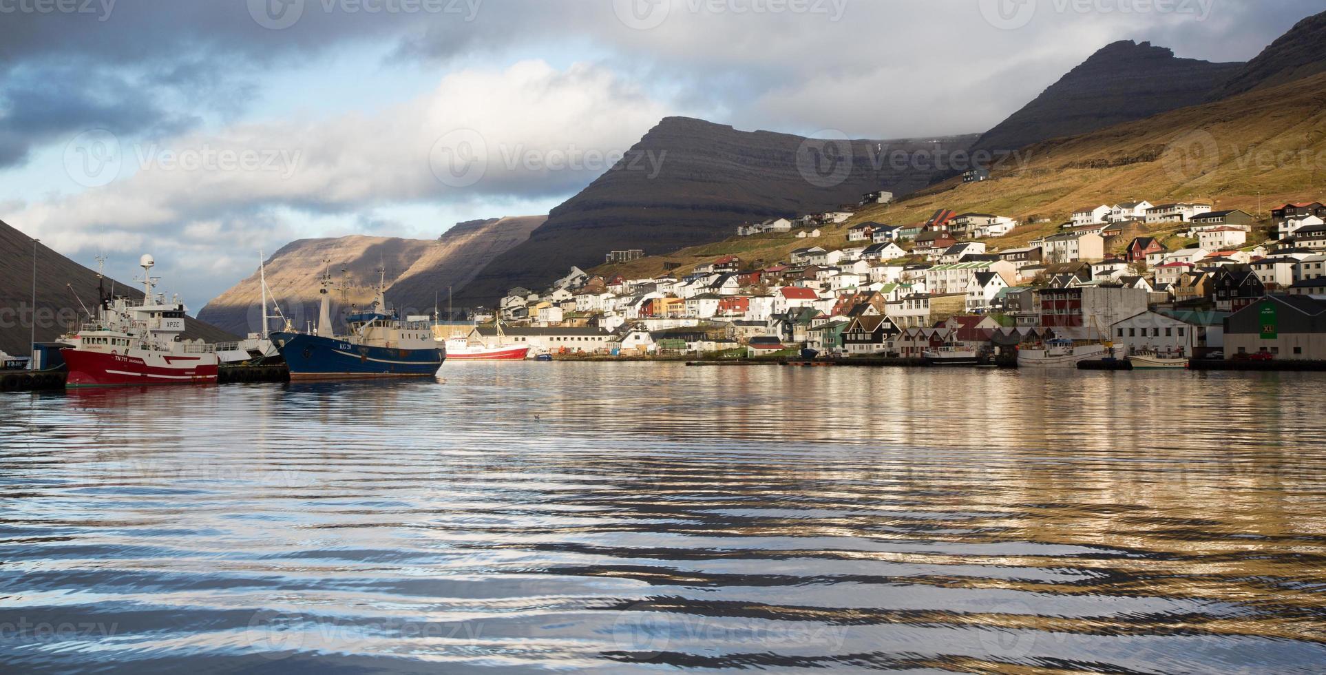 Klaksvik, Bordoy, Faroes photo