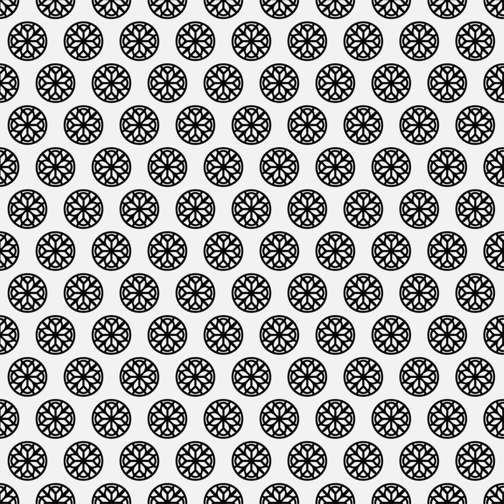 Mandala seamless pattern background vector