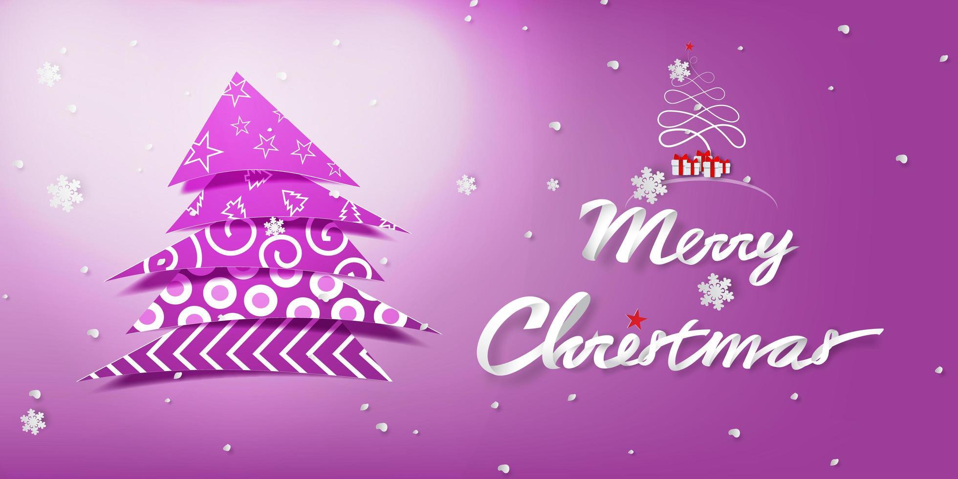 Buon Natale Arte.Arte Di Carta Buon Natale Con Decorare L Albero Scarica Immagini Vettoriali Gratis Grafica Vettoriale E Disegno Modelli