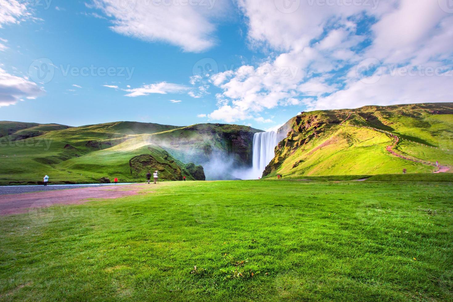 cascada islandés foto
