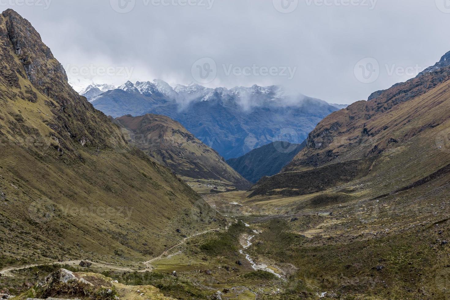 valle andino cuzco peru foto