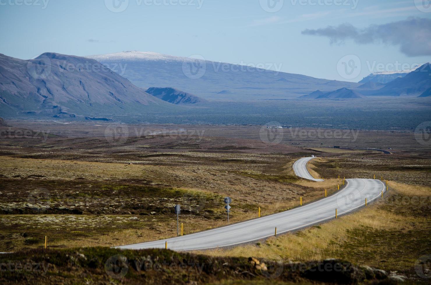 carreteras islandesas foto