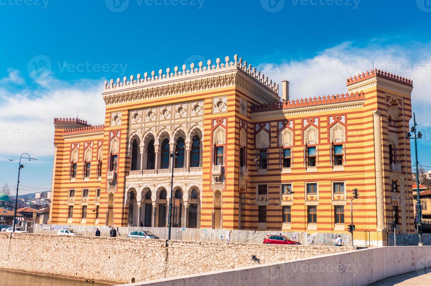 Ayuntamiento de Sarajevo, Vijecnica foto