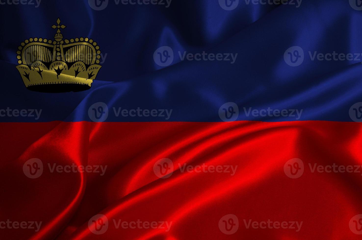 bandera de Liechtenstein foto