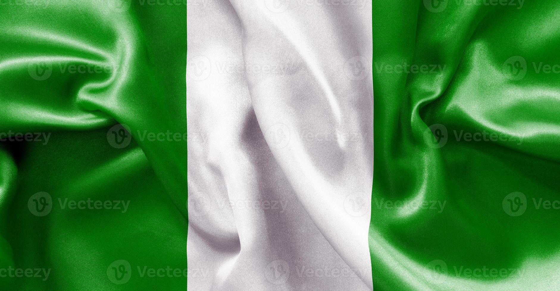 bandera de nigeria foto