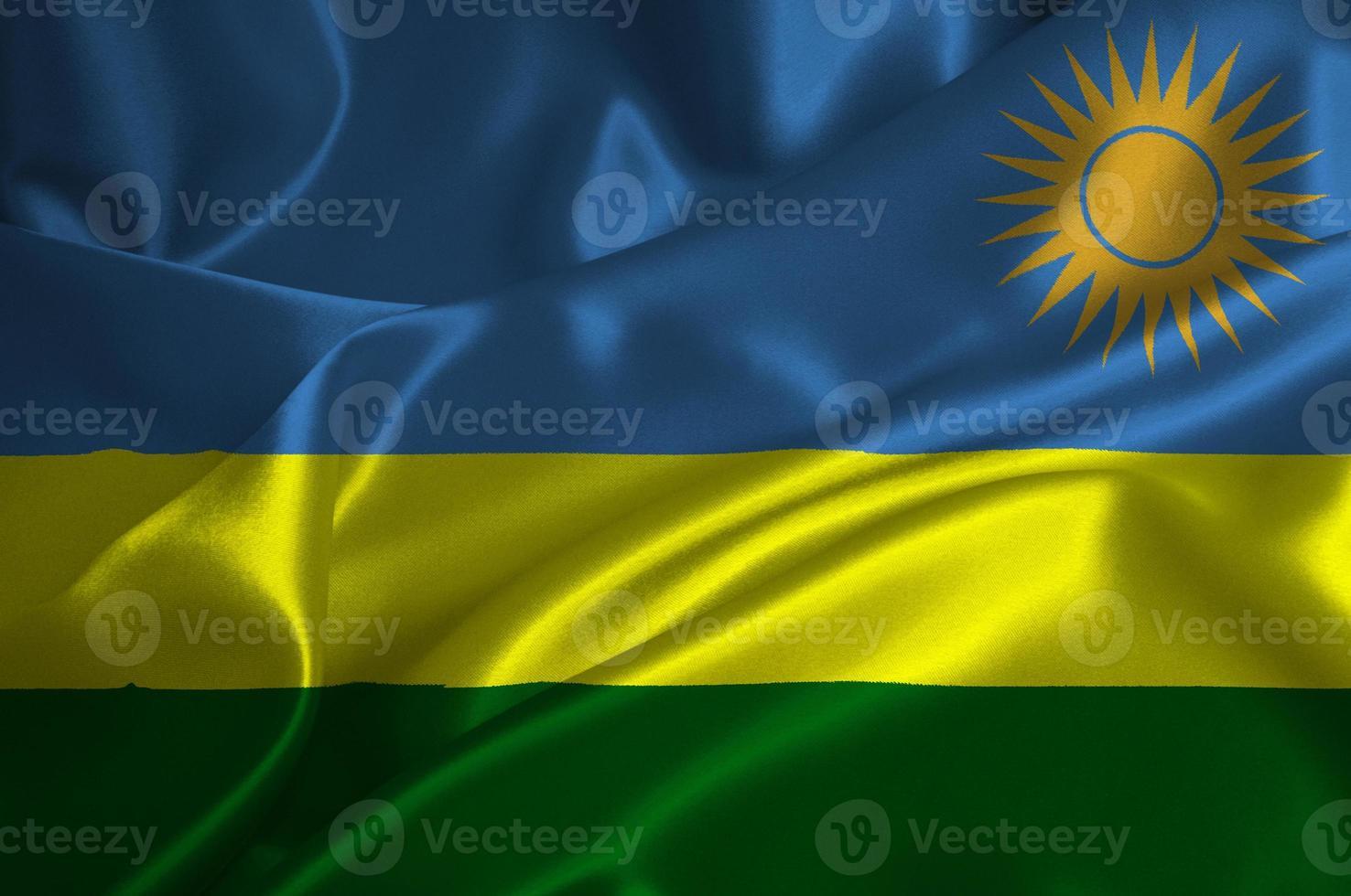 bandera de ruanda foto