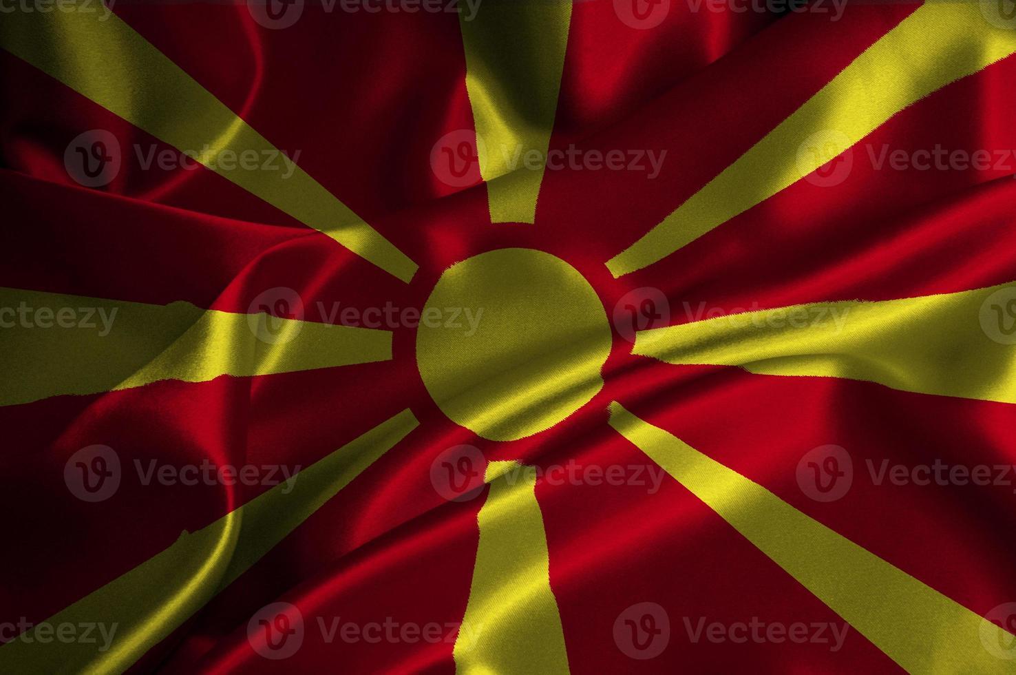 bandera de macedonia foto