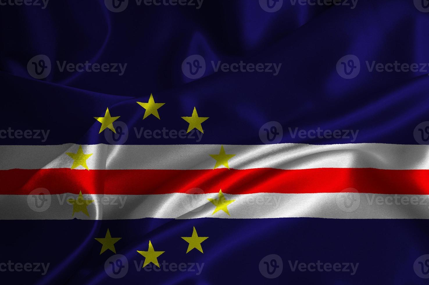 bandera de cabo verde foto