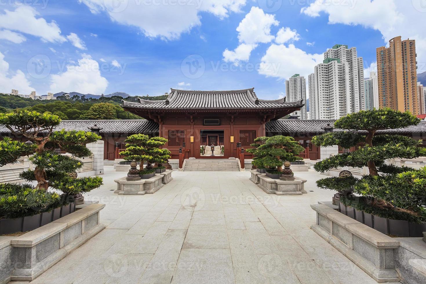 convento de monjas de chi lin en hong kong foto
