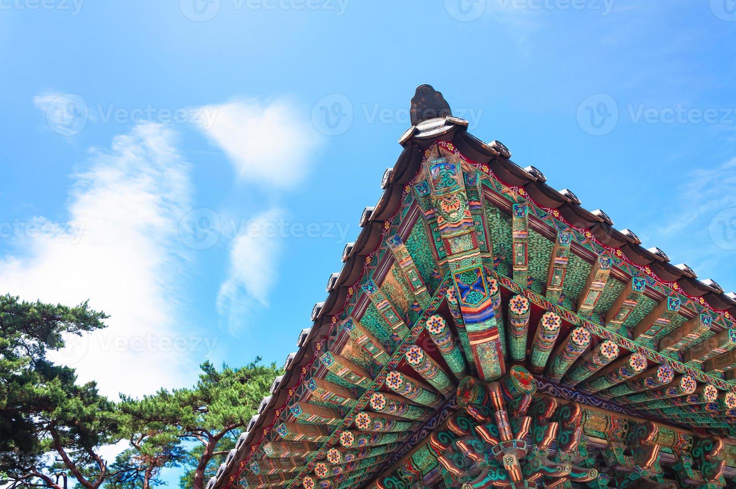 templo bulguksa foto