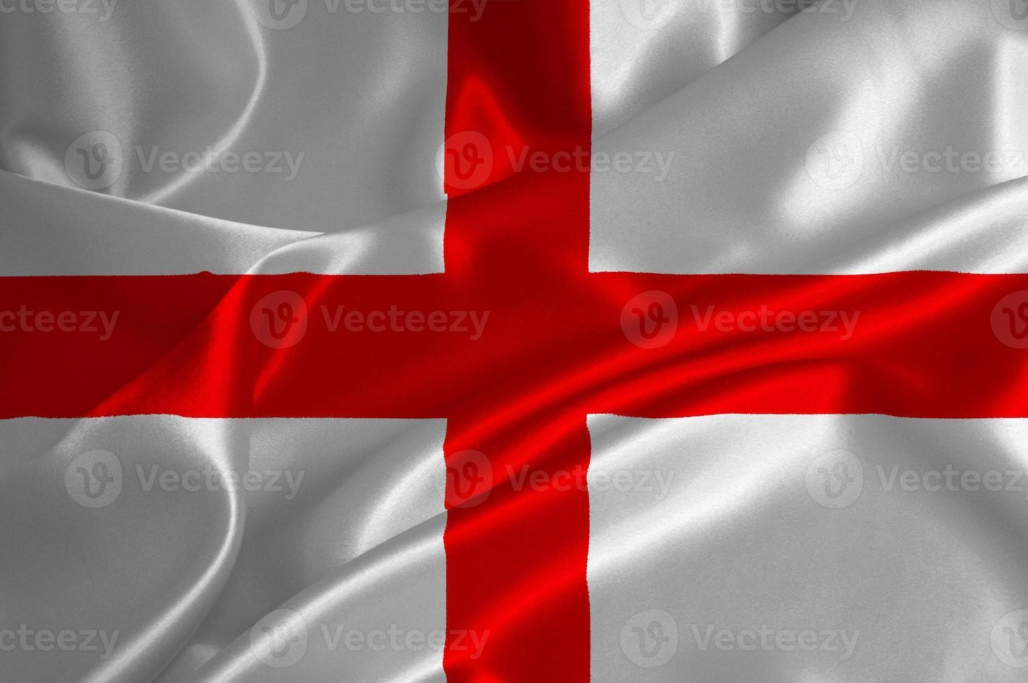 bandera de Inglaterra foto