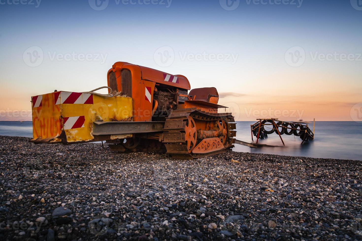 tractor de barco foto