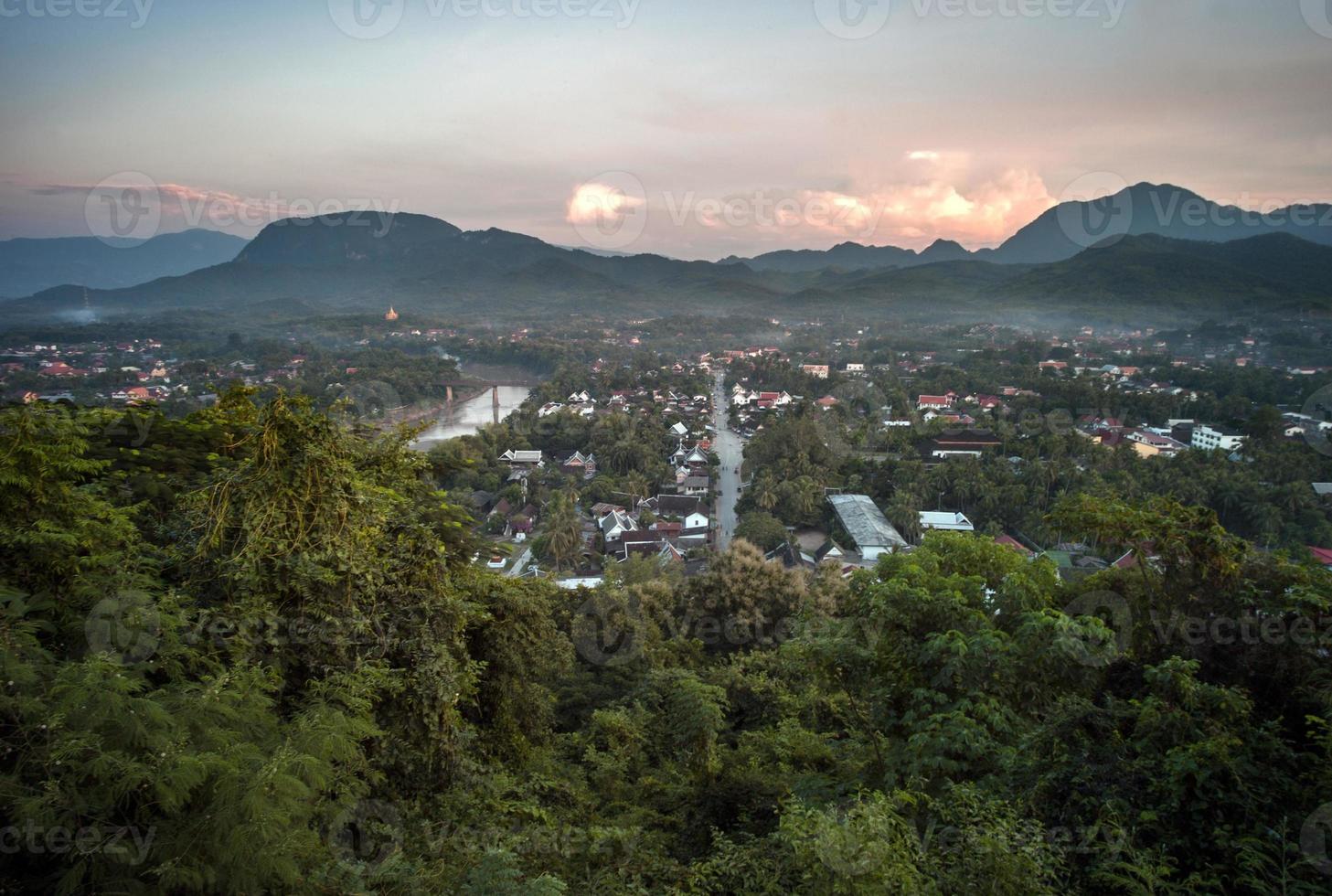 Luang Prabang, Laos form above photo